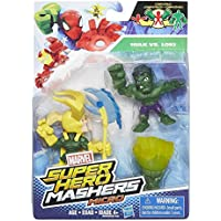 Marvel Super Hero moledores Micro Hulk vs Loki 2-Pack