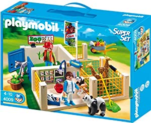 veterinario animales: Playmobil Superset: clínica veterinaria (4009)