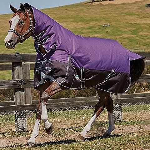 Weatherbeeta Comfitec Plus Dynamic Combo Neck Medium Purple/Black 6ft 0