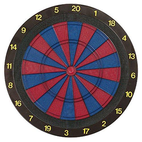 Dartboard für Softdarts inkl. 6 Softdarts - Turnierausführung