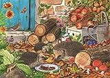 "1000 Piece Jigsaw Puzzle - Jardin Helpers ""Nouveau Juillet 2014"""