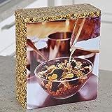 Kesper Müslidose, Metalldose, Vorratsdose,cerealiendose, aus Metall, Maße: 234 x 105 x 265 mm (Nr.2)