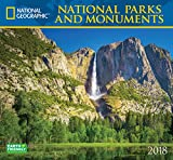 National Geographic National Parks & Monuments 2018Wandkalender