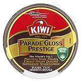 Kiwi Parade Gloss Prestige Schuhcreme - Dark Tan (50 ml) - Packung mit 2
