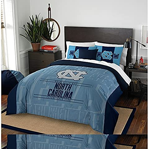 NCAA North Carolina Tar Heels Modern Take Two Sham Set,
