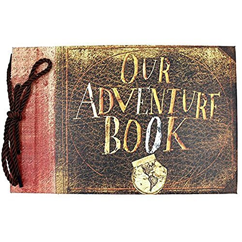 my-adventure-book-pixar-la-haut-album-photo-fait-a-la-main-bricolage-scrapbooking-marron-our-adventu