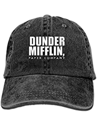 5db36f0328c fengxutongxue Dunder Mifflin Adult Cowboy Hat Baseball Cap Adjustable  Athletic Customized New Hat for Men and