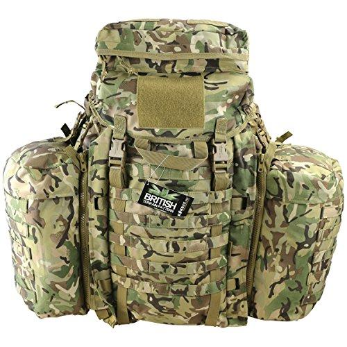 Kombat UK Unisex Tactical Assault Pack-BTP, British Gelände Muster, eine Größe