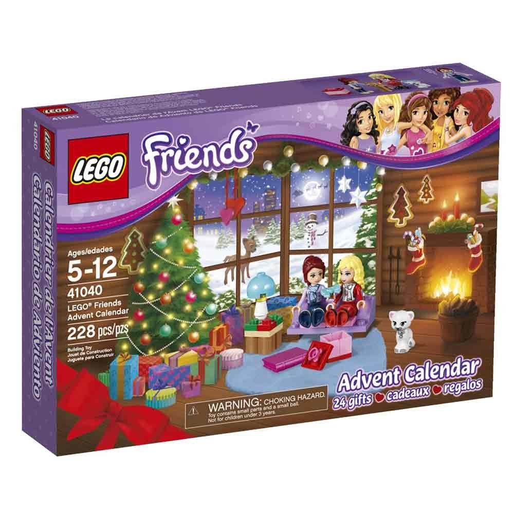 Weihnachtskalender Lego Friends.Lego Friends 41040 Adventskalender Radau Pigiau