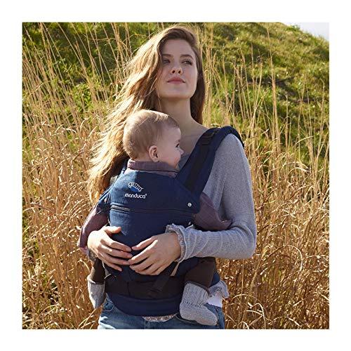 Manduca 222-02-73-000 Baby und Kindertrage, Bauch-, Rücken- und Hüfttrage, navy - 4