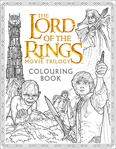 Lord Of The Rings. Movie Trilogy. Colouring Book (Colouring Books) por Vv.Aa.
