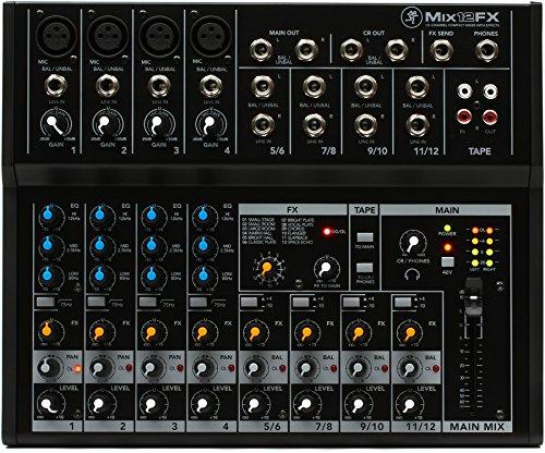 Mackie Mix 12fx mezclador profesional a 12entradas con efectos