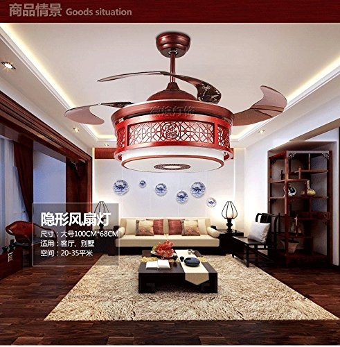 Lampade ventola cinese salone luminoso ristorante luce