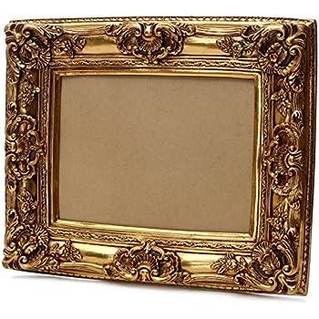 Favorit Starline Großer Barock Bilderrahmen 75x85 / 50x60 cm Gold (Antik XI82