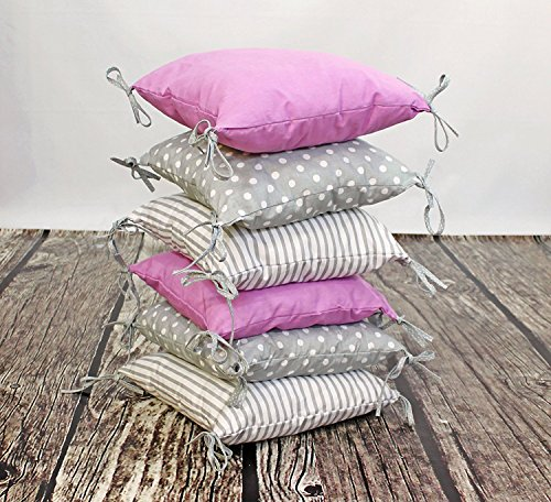 Amilian Baby Nestchen Bettumrandung 210 cm Design4 Bettnestchen Kantenschutz Kopfschutz für Babybett Bettausstattung