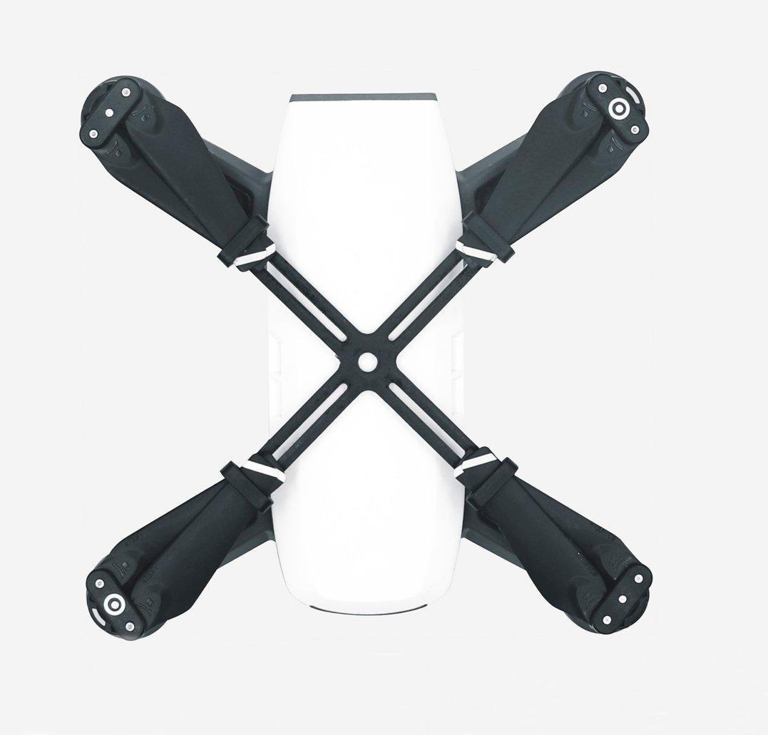 PENIVO Supporto per fissatori della lama Protezione del trasporto di stoccaggio per DJI Spark Drone