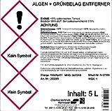 Algen + Grünbelagentferner bei starkem Befall 5 Liter