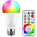 Ledgloeilamp 120 kleuren 10 watt RGBW gekleurde lamp RGB+witte lamp Edison gekleurde lichtmidden kleurverandering lampen E27
