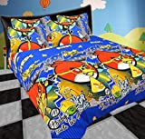 Riyasat- 5D Kids Printed Double Bed Sheet Set (230x250 cm) Glace Cotton Fabric best price on Amazon @ Rs. 599