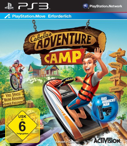 Cabela's Adventure Camp (Move) - [PlayStation 3] (Kinder-spiele Für Ps3)