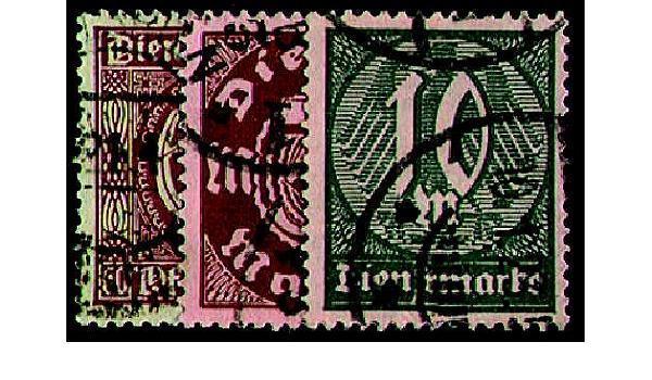 Goldhahn Deutsches Reich Nr 660-661 Fackeltr/äger Briefmarken f/ür Sammler