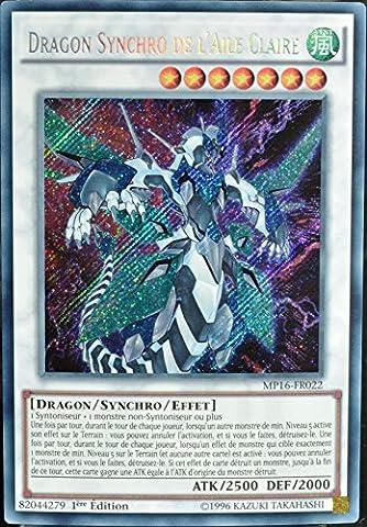 carte Yu-Gi-Oh MP16-FR022 Dragon Synchro de l'Aile Claire