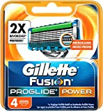 Gillette Rasierklingen Fusion ProGlide Power 4er Klingen noir 4 St.