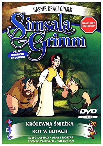 Baśnie Braci Grimm Simsala Grimm: KrĂllewna śnieĹzka, kot w butach [DVD] (Keine deutsche Version)