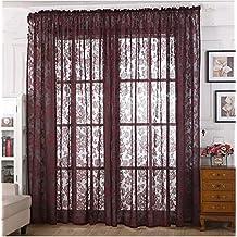 Vorhnge Gardinen Schlafzimmer Wohnzimmer Balkon Fenster Printed Baumwolle Und Leinen Einfache Blackout 1 2