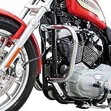 Pare Carter pour Harley Davidson Sportster 883 (XL 883) 04-10 argent