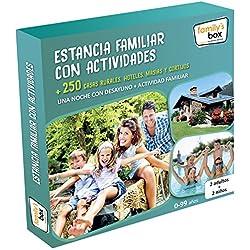 "COFRE DE EXPERIENCIAS ""ESTANCIA FAMILIAR CON ACTIVIDADES"" - Más de 250 escapadas con actividades familiares en toda España"