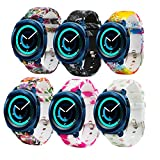 Fit-power – Smartwatch-Ersatzarmband, 20 mm, für Samsung Gear Sport / Samsung Gear S2 Classic / Huawei Watch 2 Watch / Garmin Vivoactive 3 / Garmin Vivomove HR, Pack of 6A