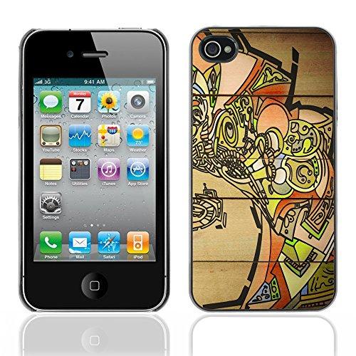 Graphic4You Mermaid Underwater Design Harte Hülle Case Tasche Schutzhülle für Apple iPhone 4 und 4S Design #19