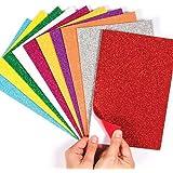Kimberleystore Paillettes Autocollant Feuilles de papier pour la création de enfants loisirs créatifs et Décorer des cartes
