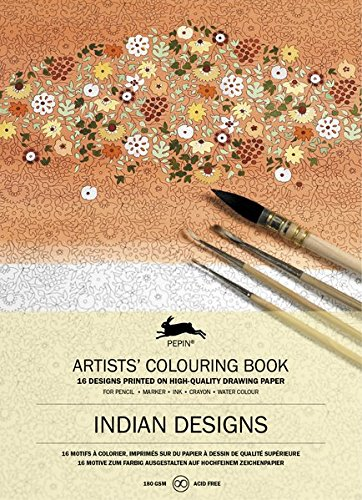 Indian Designs: Artists' Colouring Book (Artists' Colouring Books) (Muster Artist)