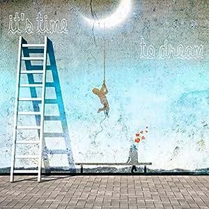 Artis 605333 Décoration Murale Toile Imprimée Time To Dream 70 x 70 cm