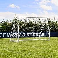 FORZA Match - 3x2m wetterfestes Fußballtor (Futsal). Neu: auch mit abnehmbarer Torwand bestellbar! [Net World Sports]