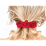 Fermaglio per capelli con fiori