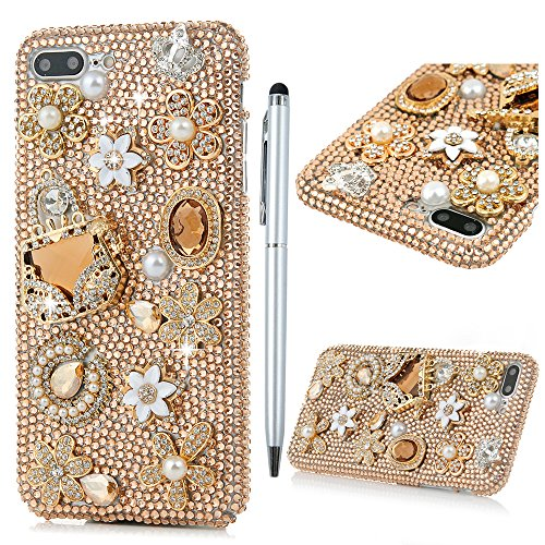 iphone-7-plus-custodia-bling-glitter-3d-diy-strass-trasparente-rigida-plastica-hard-maxfeco-case-cov