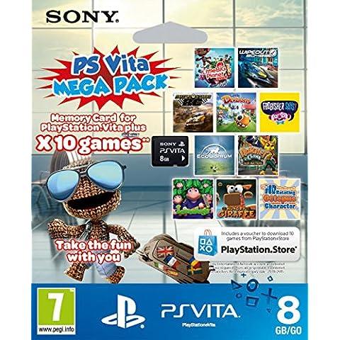 PS Vita 8GB Memory Card with 10 Kids' Games (Playstation Vita) [importación inglesa]