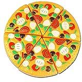 Pretend Play Lebensmittel Toys, Kunststoff Pizza Slices Kind Küche Simulation Lebensmittel Schneiden Spielzeug spielen Sets Geschenke für Kinder von ctgvh