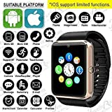 LG K5 GT08 Smart Watch With Camera || Smart Watch With Memory Card|| Smart Watch With Sim Card Support ||fitness Tracker|| Bluetooth Smart Watch||Wrist Watch Phone|| Smart Watch With Facebook. Whatsapp|| 4G Smart Watch||Any Color ||Best In Quality|| Compa