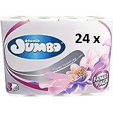 Toilettenpapier Velvet 3 lagig 150 Blatt weiß 40 Rollen Toilette WC Papier