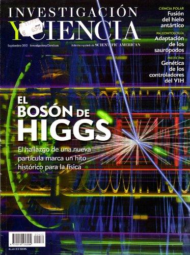 Revista Investigación y Ciencia. Edición en español de Scientific American. SEPTIEMBRE 2012