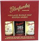 Glenfarclas 3x0.05l (10J.40%,12J.43%, 105cask str.60%)