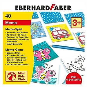 Eberhard Faber 579942Memo Parte para Colorear Incluye lápices de Colores