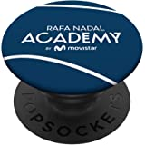 PopSocket oficial logo Rafa Nadal Academy by Movistar PopSockets PopGrip: Agarre intercambiable para Teléfonos y Tabletas