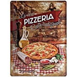 Nostalgic-Art 23159 Home & Country - Pizzeria La Vera, Blechschild 30x40 cm