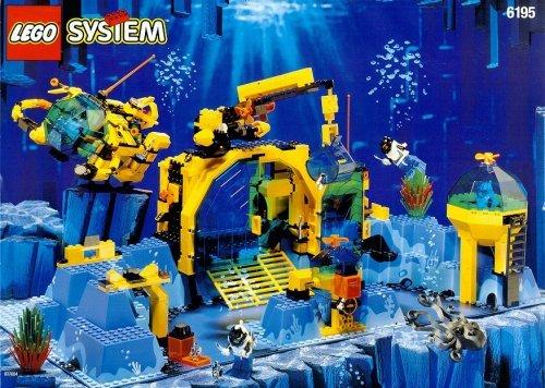 Preisvergleich Produktbild LEGO 6195 NEPTUN DISCOVERY LAB