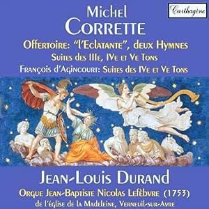 Offertoire « L'Eclatante »,Suites Des Iiie, Ive Et Ve Tons, deux Hymnes